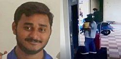 पत्नी के जले हुए अवशेषों को ले जा रहा भारतीय व्यक्ति सूटकेस में पकड़ा गया