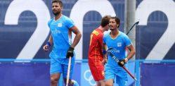 टोकियो ऑलिम्पिकमध्ये भारतीय पुरुष हॉकी संघाने स्पेनचा पराभव केला
