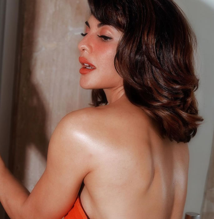 Jacqueline Fernandez stuns as She Poses in a Towel 2