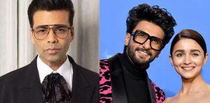 Ranveer Singh & Alia Bhatt reunite for Karan Johar Film f