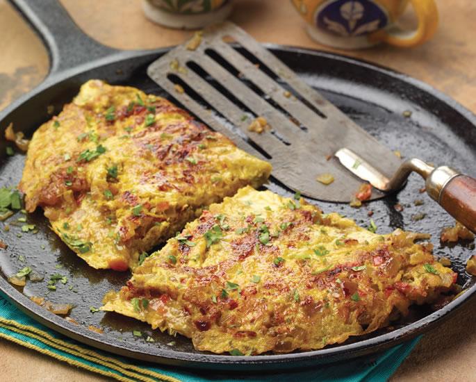 Mapishi 5 ya mayai ya India ya kutengeneza - omelette