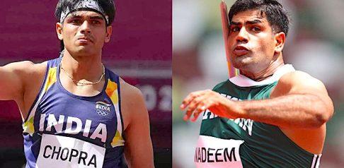 Arshad Nadeem vs Neeraj Chopra kwenye Olimpiki za 2021 - f