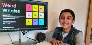 Boy aged 12 makes £290k selling NFT Artwork f