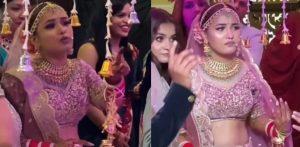 भारतीय दुल्हन ने बिना चुने गाने के शादी में प्रवेश करने से इंकार कर दिया f