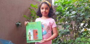 Indian Girl aged 7 writes Book about Pandemic Experience f