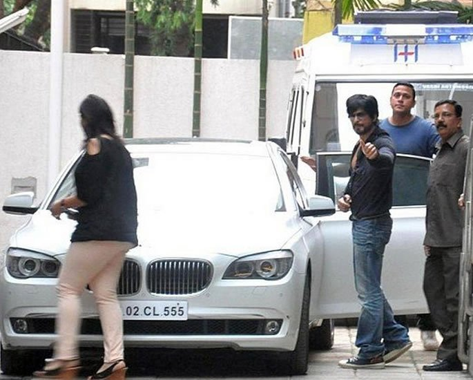 Luxury Cars owned by Shah Rukh Khan - 7 series