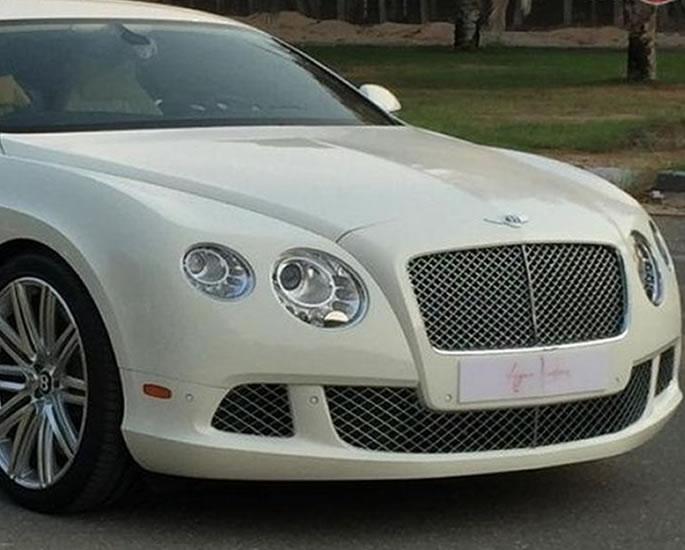 Luxury Cars owned by Shah Rukh Khan - bentley
