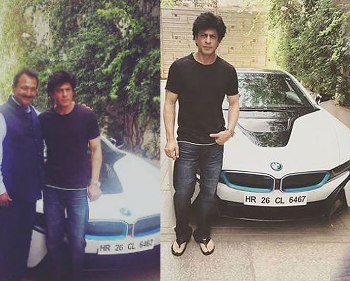 Luxury Cars owned by Shah Rukh Khan - i8