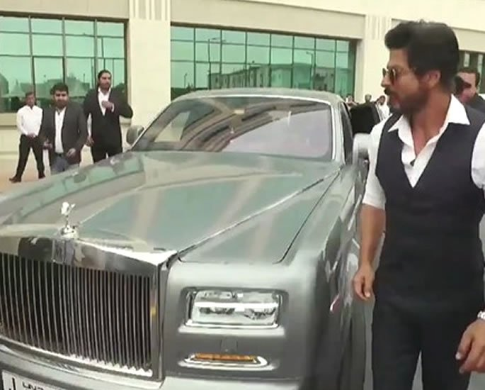 Luxury Cars owned by Shah Rukh Khan - rolls