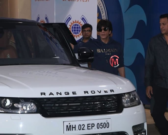 Luxury Cars owned by Shah Rukh Khan - rover