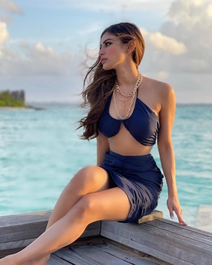 Mouni Roy slays with Maldives Bikini Looks - bikini