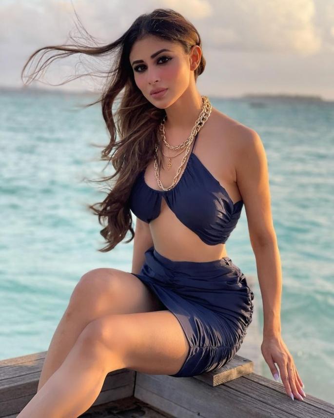 Mouni Roy slays with Maldives Bikini Looks - maldives