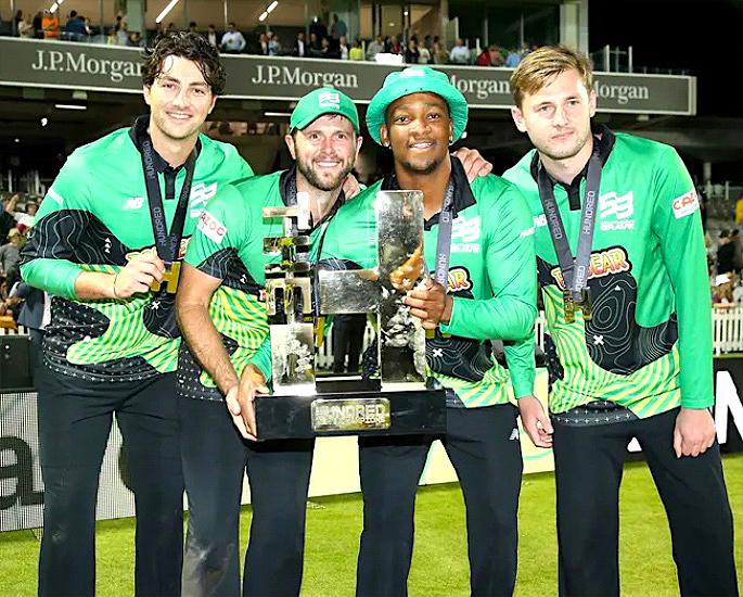સધર્ન બ્રેવે 'ધ હન્ડ્રેડ' મેન્સ ક્રિકેટ ટાઇટલ 2021 જીત્યું - IA 4