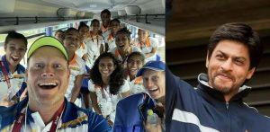 The Banter between Real Coach Sjoerd Marijne & Reel Coach SRK f
