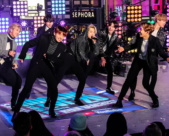 The Rising Popularity of K-pop in South Asia - bts