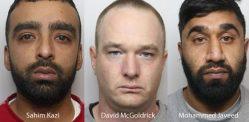 1.7 મિલિયન પાઉન્ડની કિંમતનું કોકેન મળ્યા બાદ ત્રણ શખ્સો જેલમાં બંધ