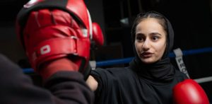 Woman says Boxing helped to Overcome Eating Disorder f