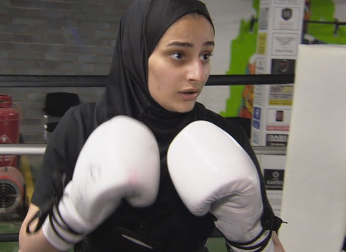 Woman says Boxing helped to Overcome Eating Disorder