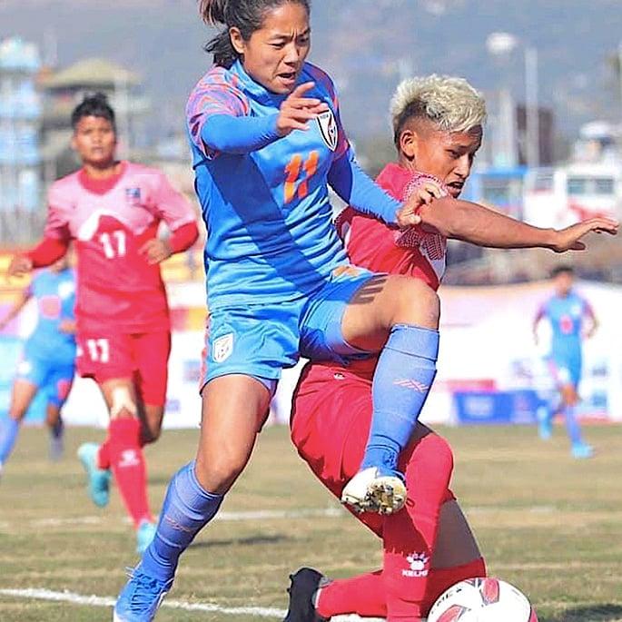 11 પ્રેરણાદાયી ભારતીય મહિલા ફૂટબોલ ખેલાડીઓ - ડાંગમેઇ ગ્રેસ