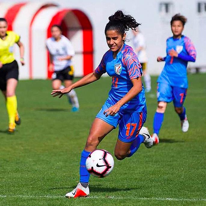 11 પ્રેરણાદાયી ભારતીય મહિલા ફૂટબોલ ખેલાડીઓ - ડાલિમા છિબ્બર