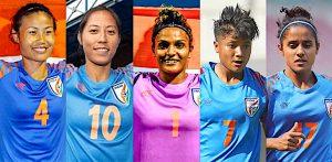 11 অনুপ্রাণিত ভারতীয় মহিলা ফুটবল খেলোয়াড় - এফ