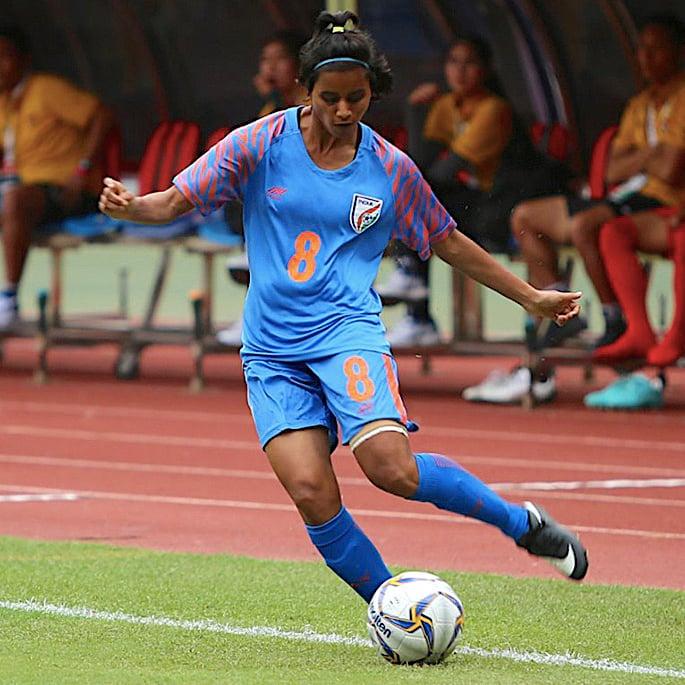 11 પ્રેરણાદાયી ભારતીય મહિલા ફૂટબોલ ખેલાડીઓ - સંજુ યાદવ