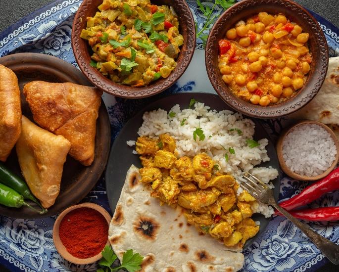 15 ব্রিটিশ এশিয়ান মহিলাদের জন্য চ্যালেঞ্জ - খাদ্য