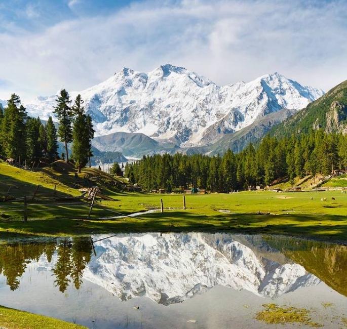 5 خوبصورت مناظر جو آپ کو پاکستان میں کرنے کی ضرورت ہے - فیری میڈوز۔