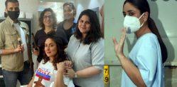 لال سنگھ چڈھا کے سیٹ پر کرینہ کپور 'میرے پیاروں کے ساتھ'
