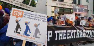 विरोध प्रदर्शनों ने 3 ब्रिटिश सिख पुरुषों के प्रत्यर्पण को वापस लेने के लिए मजबूर किया