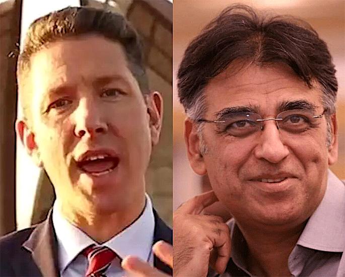 """La rimozione del Pakistan dalla """"Lista rossa dei viaggi"""" è stata accolta con favore -Cristian Turner Asad Umar"""