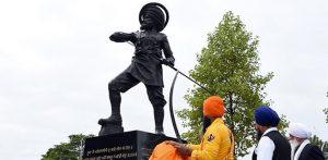 सारागढी स्मारकाचे शूर शिख सैनिकांच्या सन्मानार्थ अनावरण
