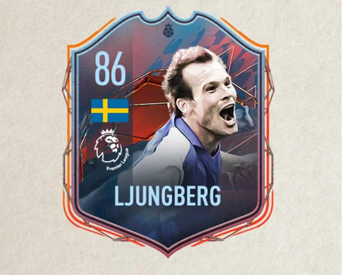 फिफा 22 अल्टीमेट टीमचे चिन्ह आणि नायक - ljungberg