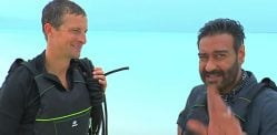 Ajay Devgn shows his Survival Prowess with Bear Grylls