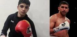 बॉक्सिंग डेब्यू करते हुए आमिर खान ने चचेरे भाई को दिया टॉप के लिए टिप्स
