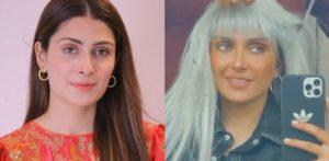 Ayeza Khan Trolled for Grey hair