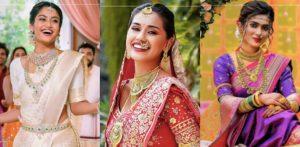 ब्यूटी क्वीन्स ब्राइड्स ऑफ इंडिया को दर्शाती हैं