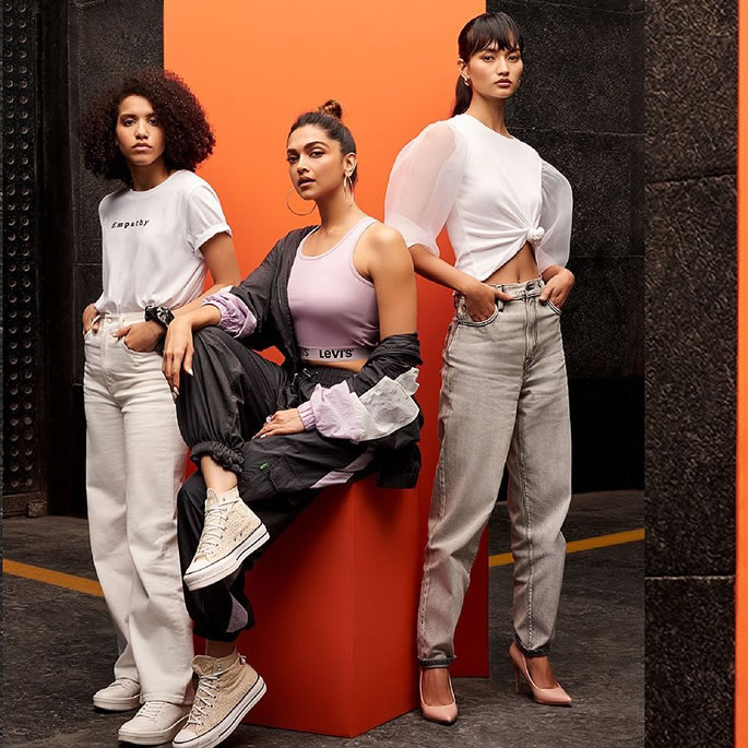 Deepika Padukone collaborates with Levi's on New Collection