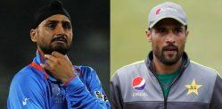Harbhajan Singh & Mohammad Amir get into Twitter Spat