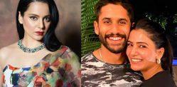 Kangana reacts to Naga Chaitanya & Samantha Akkineni Split