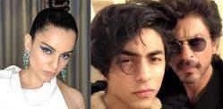 ஆர்யனின் கைது தொடர்பாக SRK மீது கங்கனா நிழல் வீசினார்