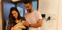 Neha Dhupia reveals 1st Picture of Newborn Son
