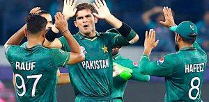 પાકિસ્તાને 2021 વર્લ્ડ T20માં ભારત પર સુપર વિન મેળવ્યું - F