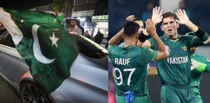 पाकिस्तान ने भारत को हराया और फैन सेलिब्रेशन ने यूके रोड्स को मारा f