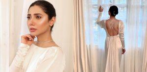 पाकिस्तानी अभिनेत्री माहिरा खानला बॅकलेस ड्रेससाठी फ्लॅक मिळाला