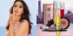 Sara Ali Khan protagonista della nuova pubblicità di Maybelline