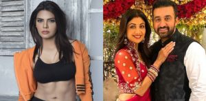 शर्लिन चोपड़ा ने शिल्पा शेट्टी, राज कुंद्रा से £7m मांगे