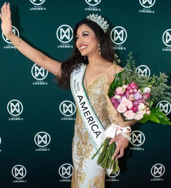 Shree Saini ni Mhindi wa 1 wa Amerika kushinda Miss World America